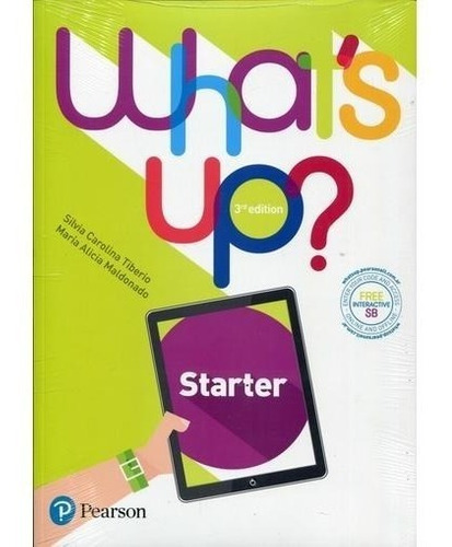 what´s up starter - student´s pack 3rd edition - pearson