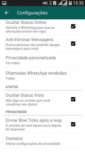 whatsap modificado 2018 com anti eliminar memsagem