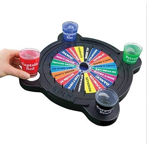 Wheel Of Mis Fortune Juego De Mesa Para Beber 37 990 En