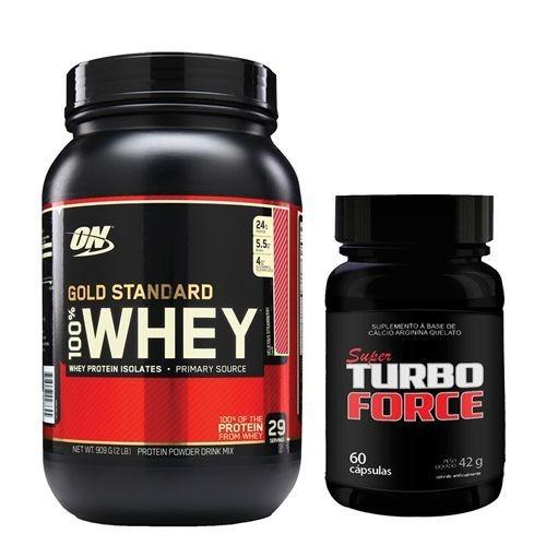 whey 100% gold standard moran 909g super turbo force optimum
