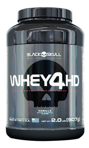 whey 4hd (907g) - black skull suplementos
