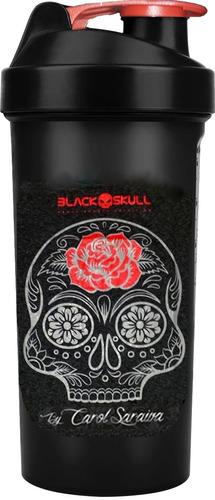 whey 4hd - blackskull (907g) (todos sabores) + brinde