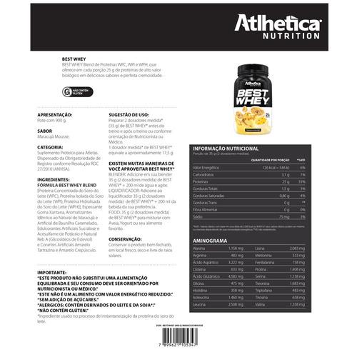 whey atlhetica nutrition