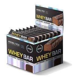 Whey Bar 24 Unidades Varios Sabores Probiotica Promoção