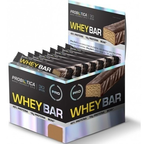 whey bar melhor barra proteína probiotica 24 proteina