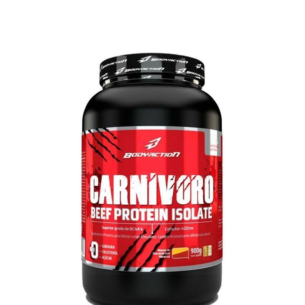 49d9bf67a Whey Carnivoro - Proteína Da Carne (900g) - Body Action - R  129
