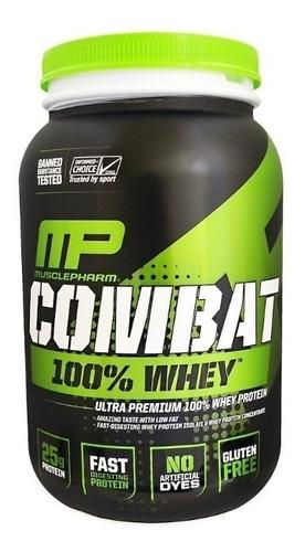 whey combat 100% - muscle pharma