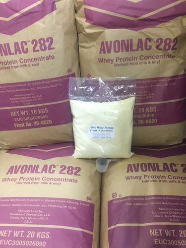 whey concentrado puro 100% whey protein glanbia 282 optimum