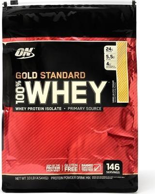 whey gold standard 10lb - 146 servicio - l a $38990