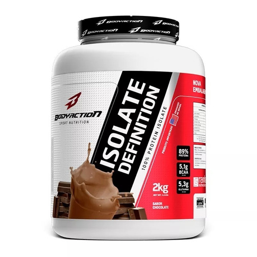 whey isolado 2kg pote - bodyaction isolate definition 2kg