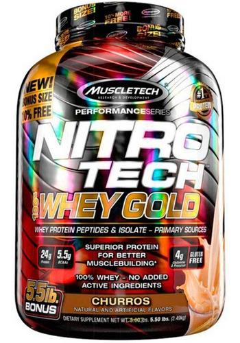 whey isolado hidrolisado muscletech nitro tech gold 2,5kg