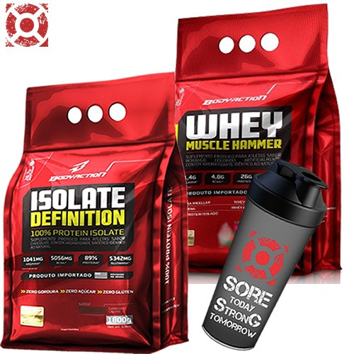 Whey Isolate Definition 1,8k + Whey Muscle 1,8k Body ...