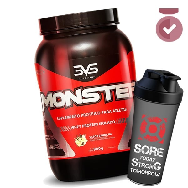 49e6c94a7 Whey Isolate Monster - 3vs - 1g Carb