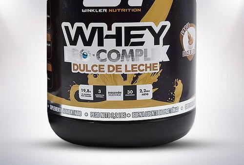 whey pro com. 30 serv.dulce de leche .outlet-smart