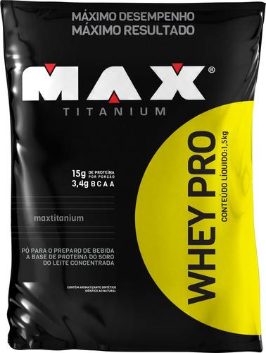 whey pro max titanium