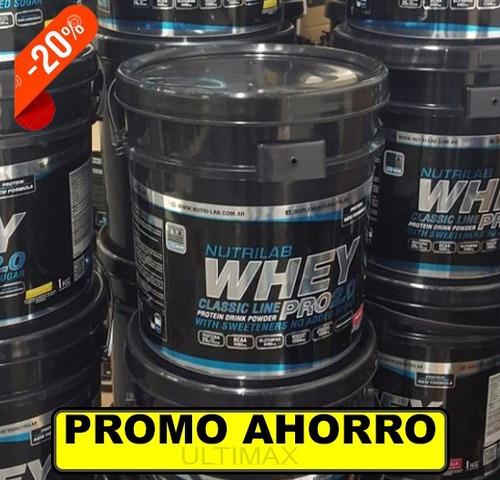 whey pro nutrilab 5 kg suero lacteo premium