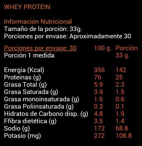 whey protein 1 kg.+ 1 shaker 3 en 1 envio a todo chile