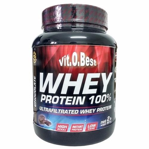 whey protein 100% (907g) 2lbs - vitobest - chocolate
