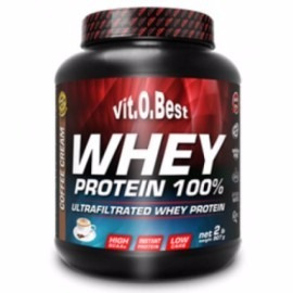 whey protein 100% (907g) 2lbs - vitobest - creme de café