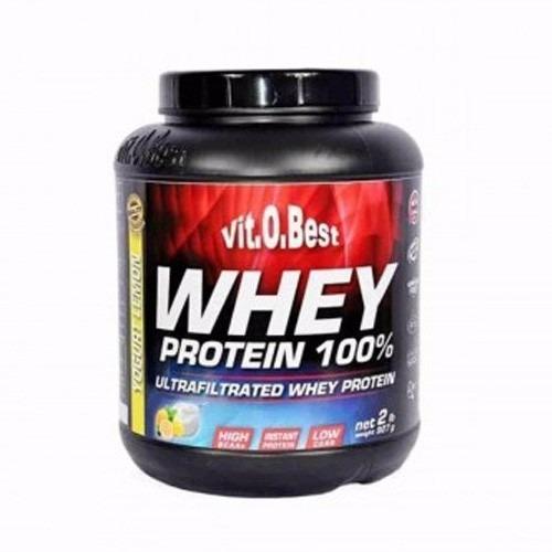 whey protein 100% (907g) 2lbs - vitobest -yogurte limão