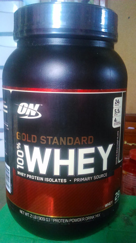 whey protein 100% gold standard 2 libras on