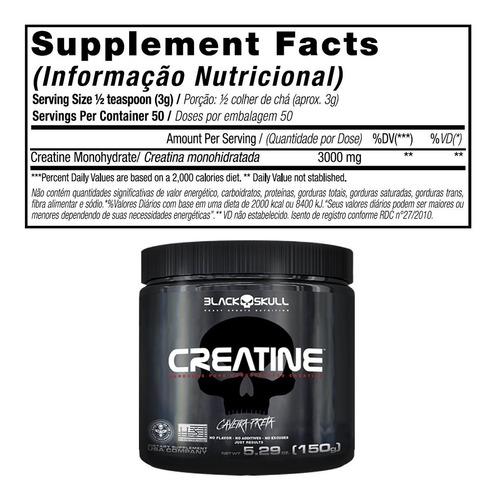 whey protein 1kg + 900g + bcaa + creat + gluta - black skull