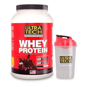 Whey Protein 2 Lb (907 G) + Shaker De Regalo Ultra Tech