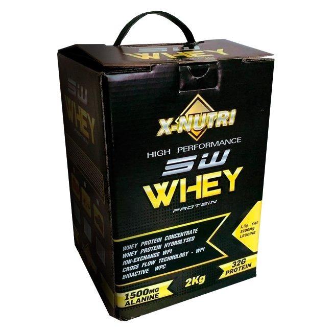 b65a7aa65 Whey Protein 2kg 5w X-nutri Isolado Hidrolisado Way Wey - R  60