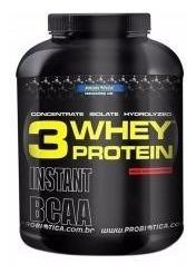 whey protein 3 w morango 2,2 kg