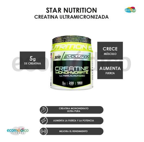 whey protein 3kg + creatina x 1 kg + vaso star nutrition