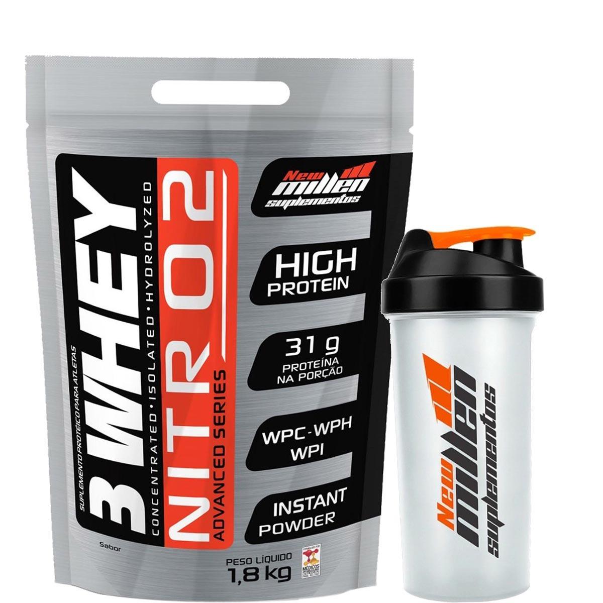 b28f5b001 Whey Protein 3w Nitro New Millen 1
