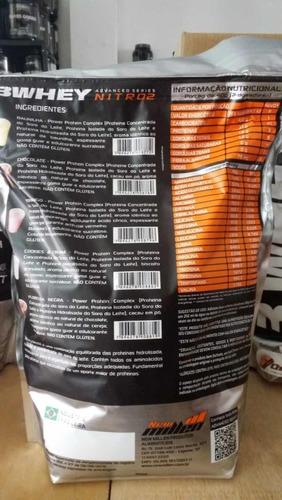 whey protein 3w nitro2 1800g  sem juros frete gratis moran