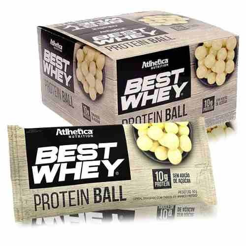 670eb886c Best Whey Protein Ball (12 Unid - 50g) - Atlhetica Nutrition - R ...