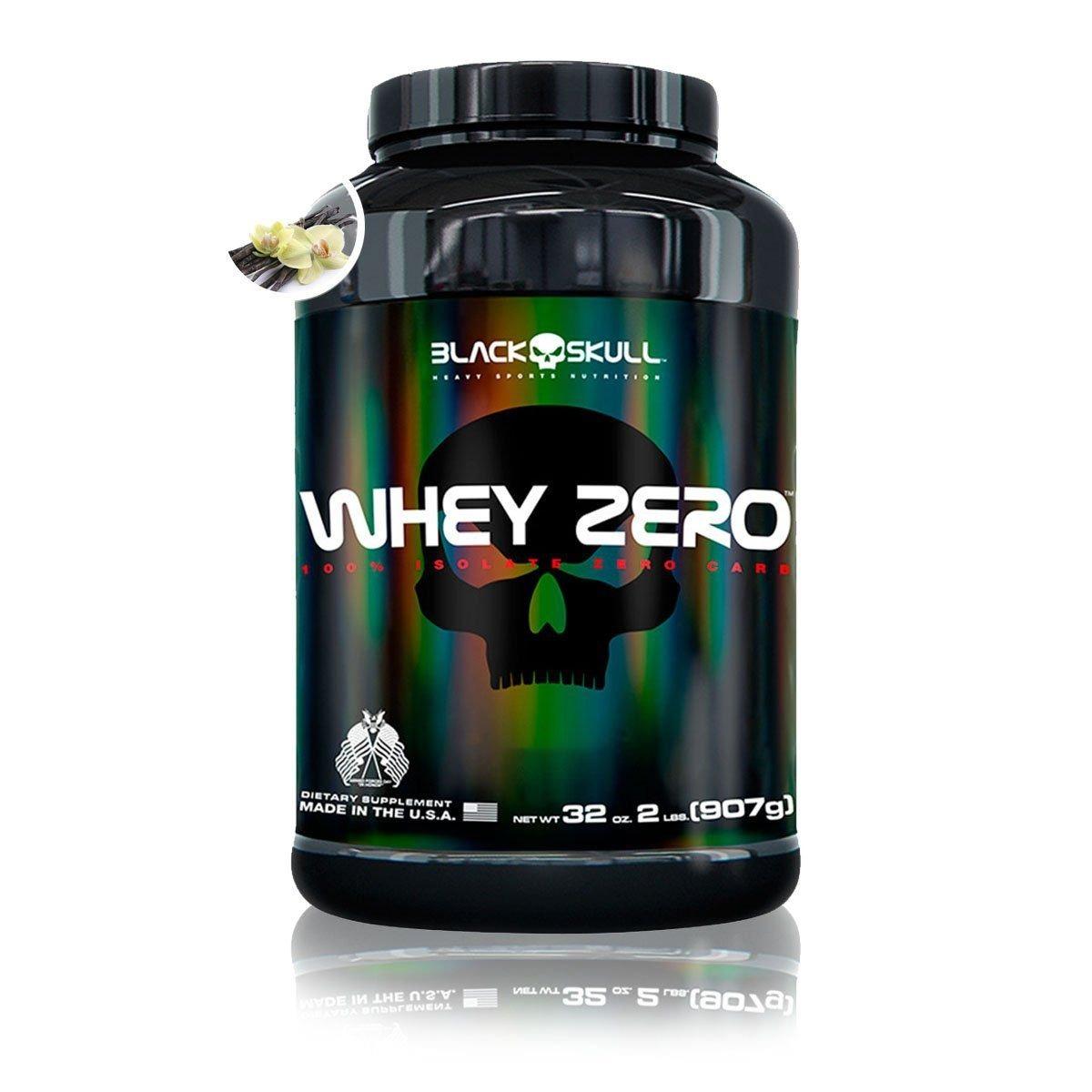 Whey Protein Isolado Zero 900g Black Skull - Sabores - R  147 25ac96e83ad6c