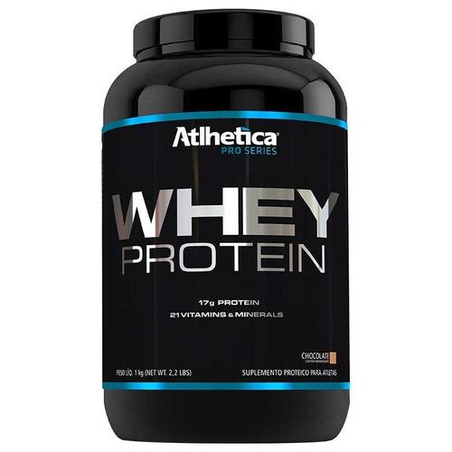 whey protein concentrado hidrolisado 100% puro 1kg atlhetica