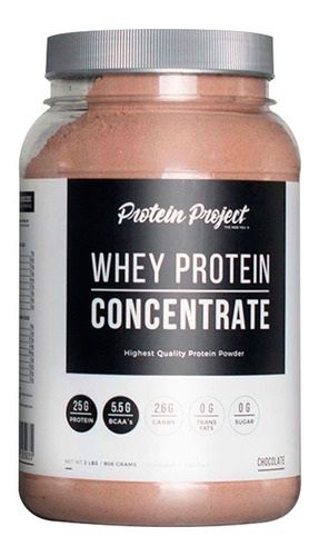 whey protein concentrate 2lb protein project