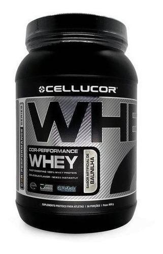 whey protein cor performance morango 900g - cellucor