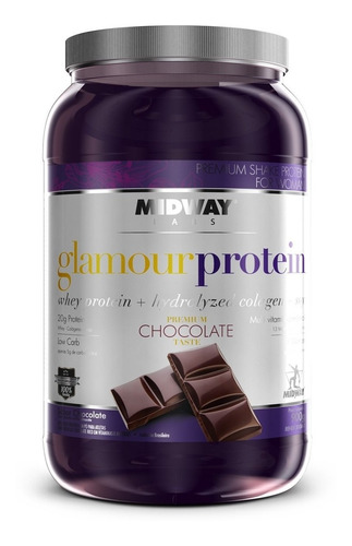 whey protein glamour com colageno - midway val 03/2020