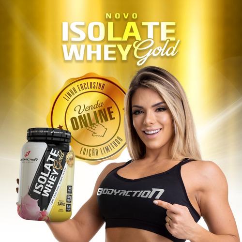 whey protein gold bodyaction- isolado & hidrolisado - 1,8kg