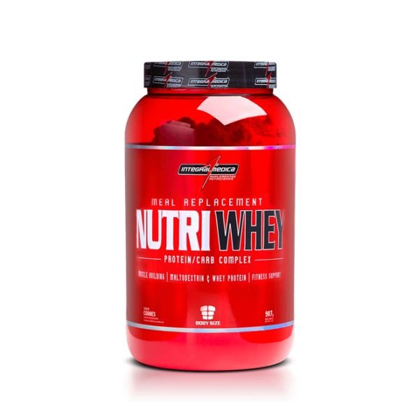 886acd69a Nutri Whey Protein - Integralmédica - 907g - Chocolate - R  64