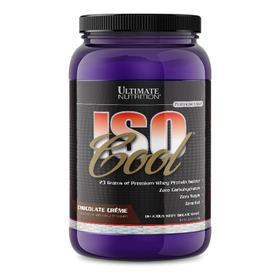 Whey Protein Isocool 907g Ultimate - Zero Carbo 100% Isolado