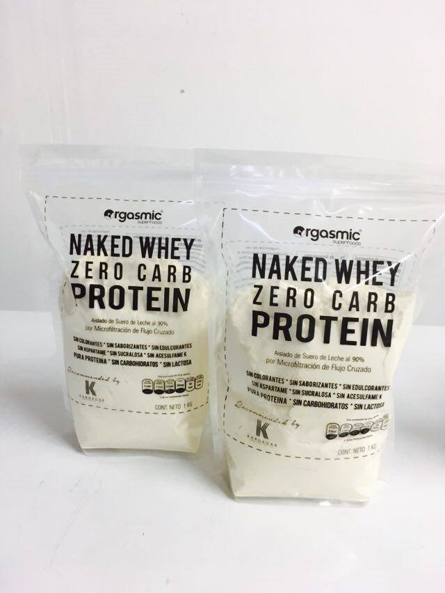 Naked whey protein isolate