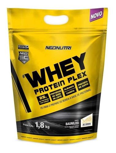 whey protein plex 1,8kg - baunilha