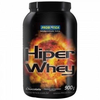whey protein probiotica- morango