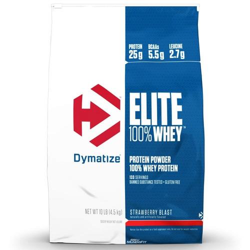 whey protein refil elite dymatize 10lbs 4,5kg