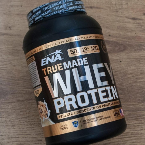 whey protein true made isolate + concentrate 2,05 libras