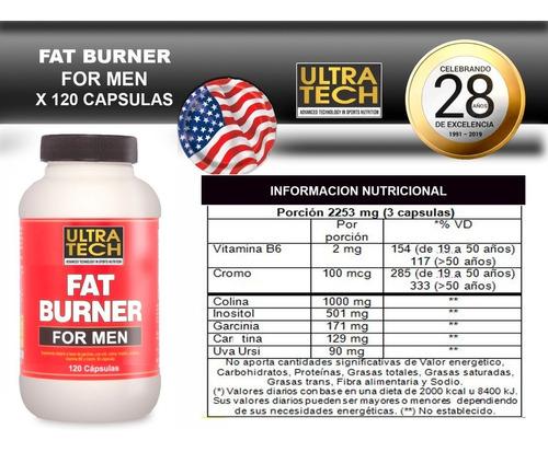 whey protein ultratech 2 potes  + quemador de grasa