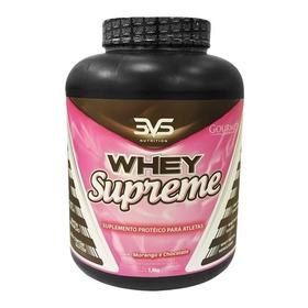 Whey Supreme - 3vs Nutrition - 1,8kg - Morango E Chocolate