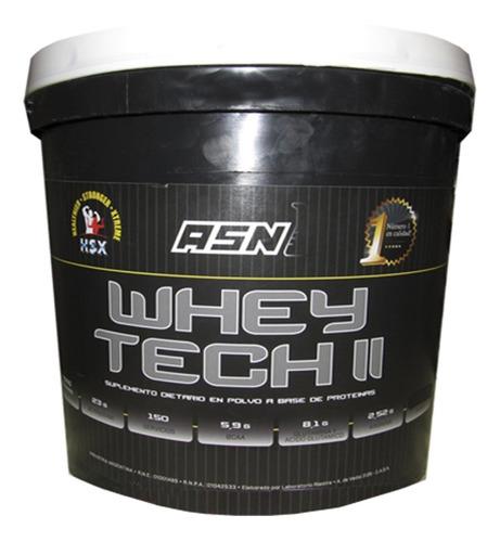 whey tech 4,5 kgs asn 100% proteina fortificada rutina dieta