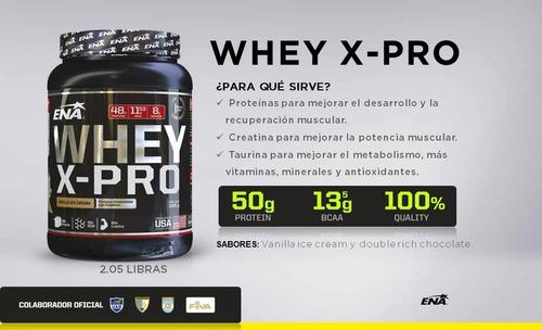 whey x pro (1 kg) ena sport - proteína suero leche
